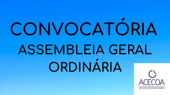 CONVOCATÓRIA ASSEMBLEIA GERAL ORDINÁRIA (1)