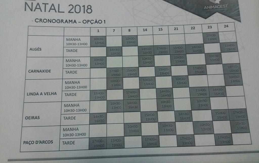 CRONOGRAMA EVENTOS OEIRAS