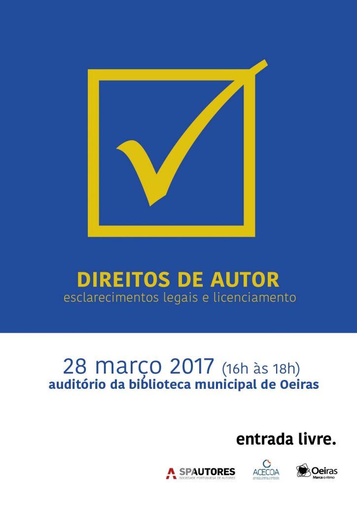 SESSÃO DE ESCLARECIMENTO DIREITOS DE AUTOR